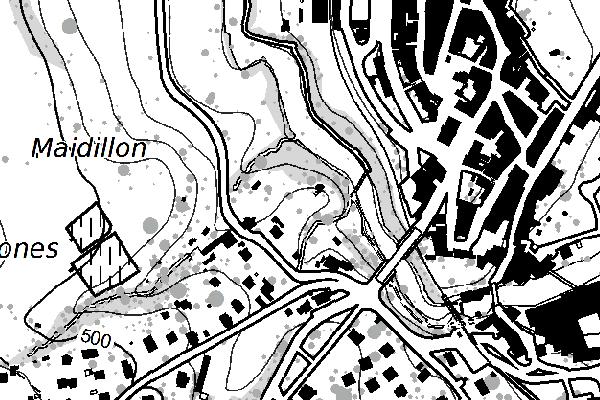 Plan de base 1:10'000