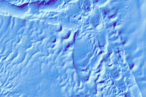 Bathymétrie du lac Léman : MNT (grilles)