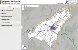 Guichet cartographique de Chevilly